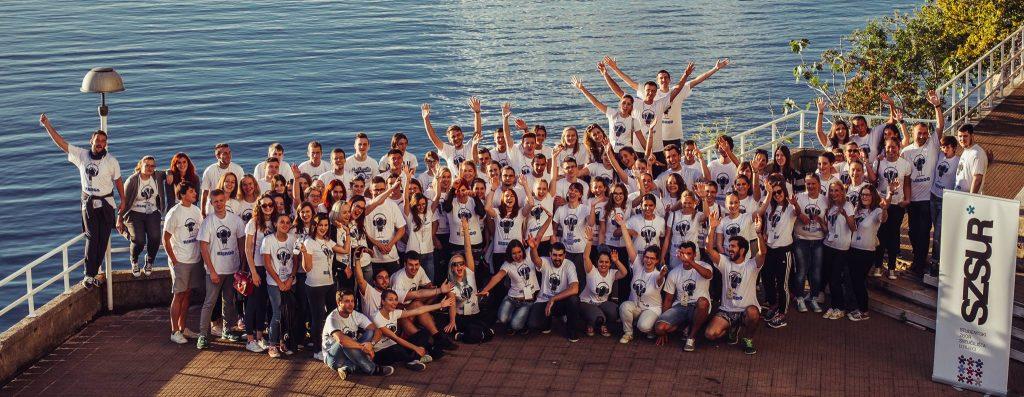 Sudionici i sudionice Kampa za brucoše 2015. godine